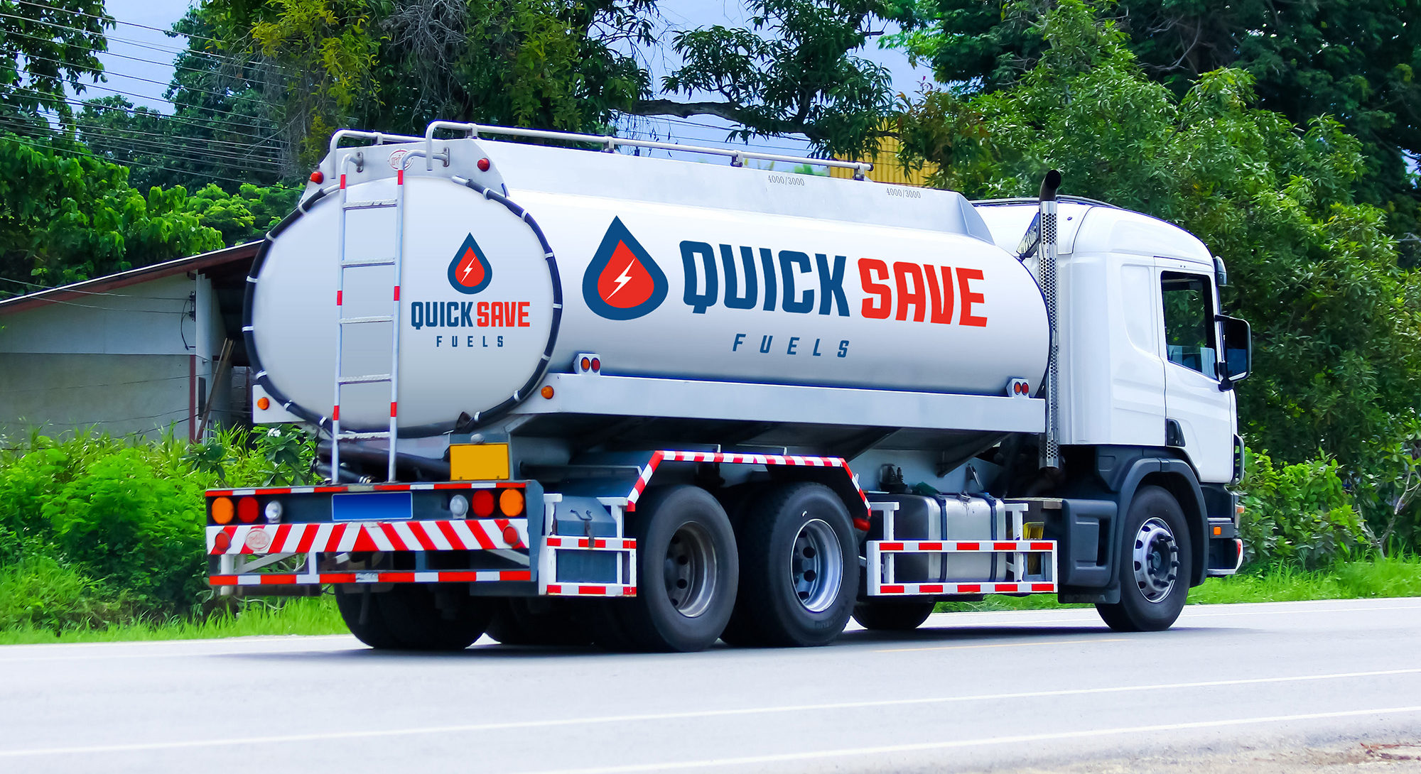 Quick oil delivery with on-board truck technology